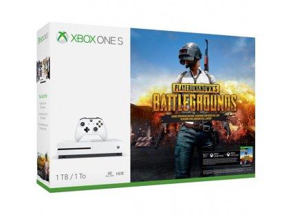Herní konzole Microsoft Xbox One S 1 TB + PlayerUnknown's Battlegrounds