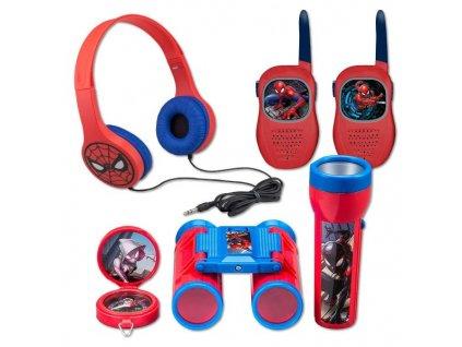 Vysílačky Nickelodeon Set Spiderman - červená