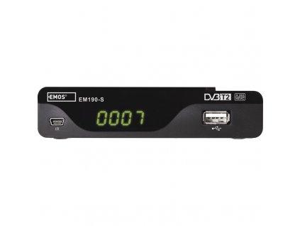 Set-top box EMOS EM190-S HD