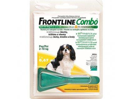 Pipeta Frontline Combo Spot - on Dog S 1 x 0,67 ml (pes 2 - 10kg)