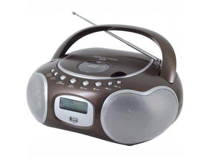 Radiopřijímač DAB+/CD Soundmaster SCD4200BR