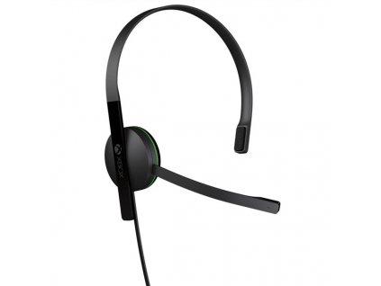 Headset Microsoft Xbox One Chat Headset - černý