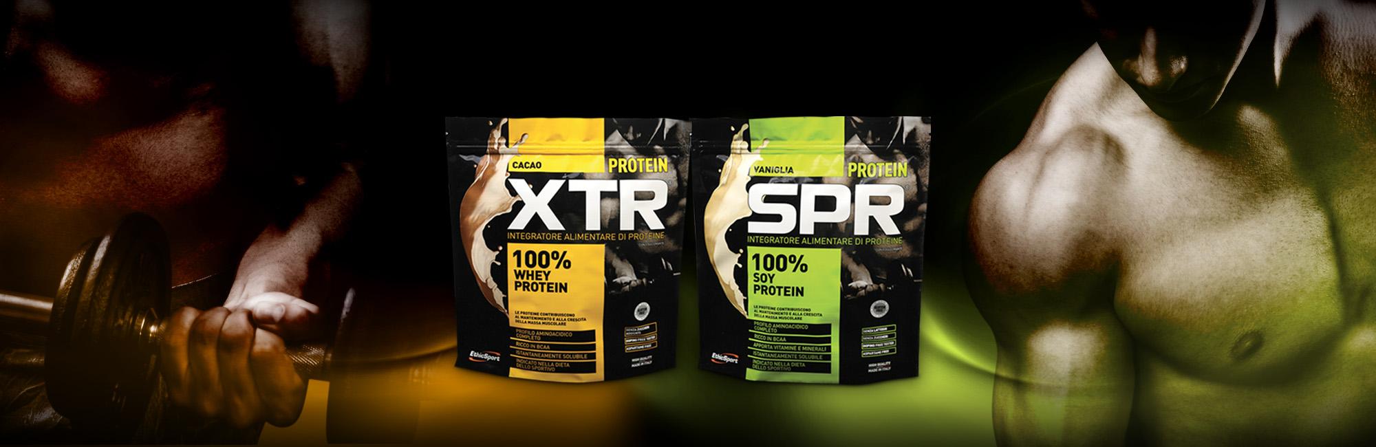 EthicSport - profesionální sportovní výživa - proteiny