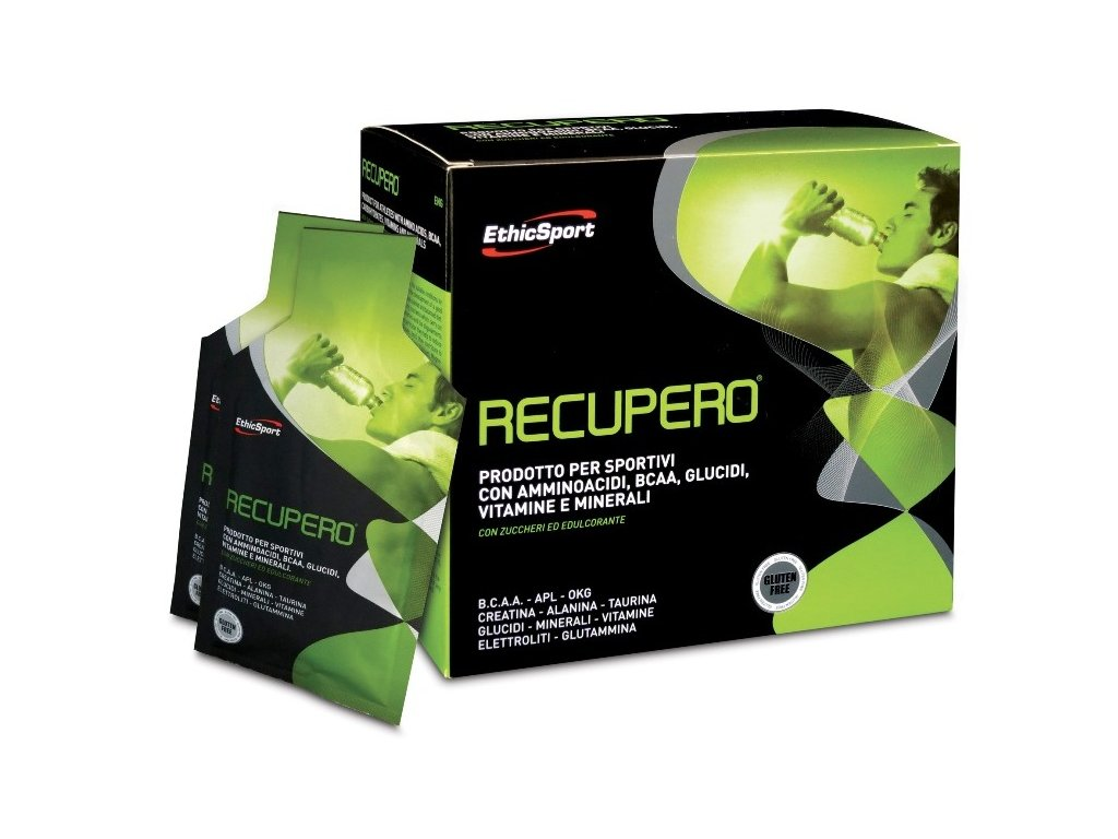 Recupero - regenerační nápoj pro sportovce | EthicSport