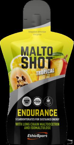 EthicSport MALTOSHOT ENDURANCE 50 ml Příchuť: Tropické ovoce