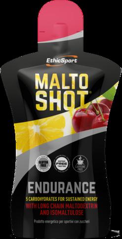 EthicSport MALTOSHOT ENDURANCE 50 ml Příchuť: Třešeň
