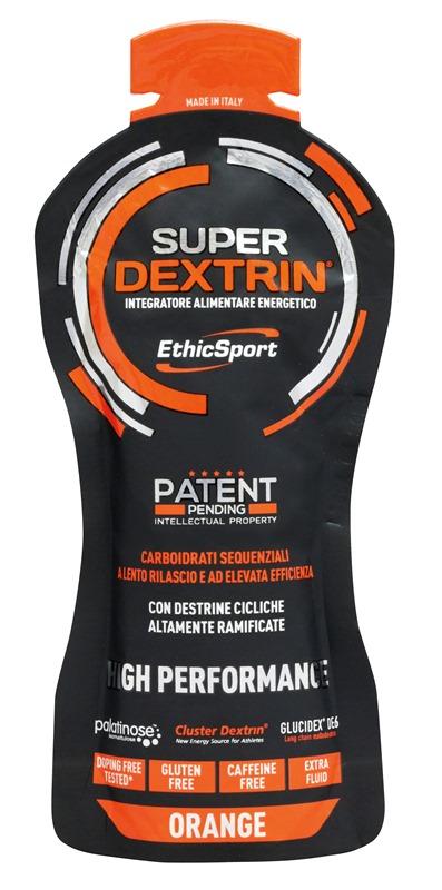 EthicSport SUPER DEXTRIN GEL 55 ml Příchuť: pomeranč