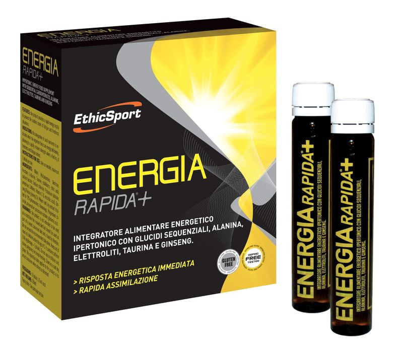 EthicSport ENERGIA RAPIDA+ 10x25 ml