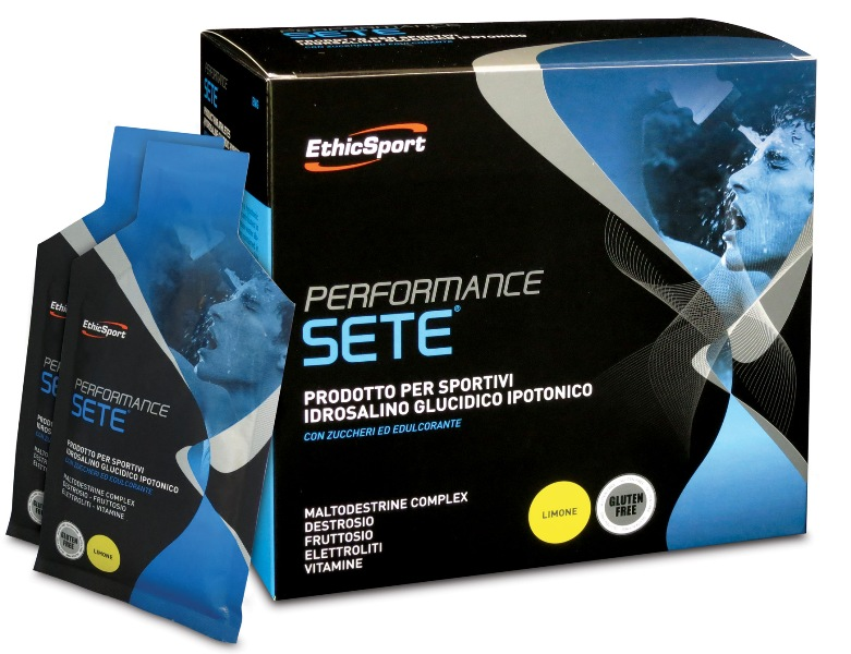 EthicSport PERFORMANCE SETE Balení: krabice 14 x 22 g (citron)