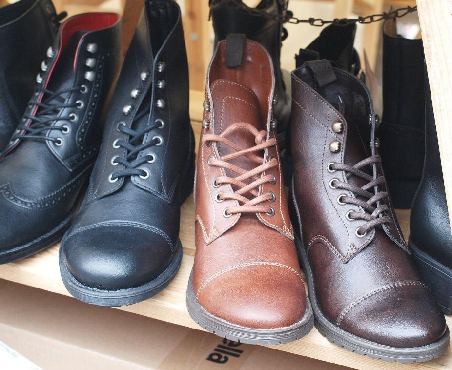 Veganské boty - z čeho to je?