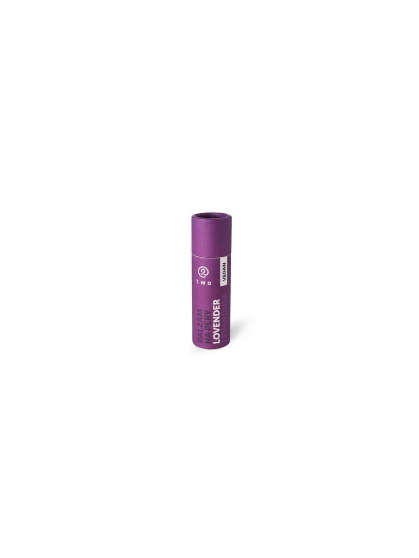 Two cosmetics Balzám na rty v tyčince Lovender - levandule (10 g)