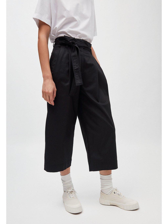 """Dámské černé culotte kalhoty """"VIOLETTAA black"""""""