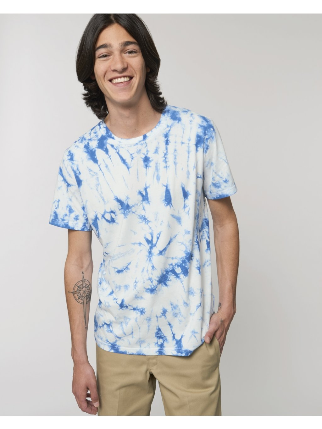 Creator Tie and Dye Majorelle Blue Studio Front Main 0