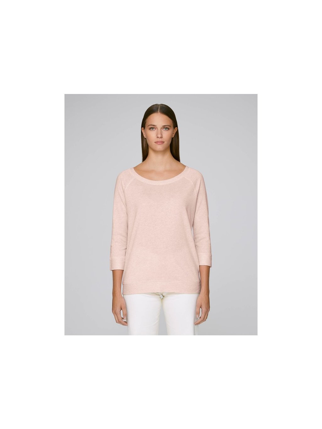 Stella Amazes Tencel Cream Heather Pink Studio Front Main 5