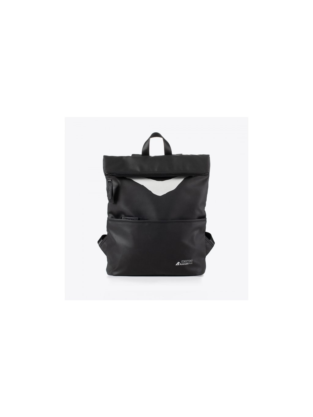 backpack vegan animal asia cruelty free black italian recycled