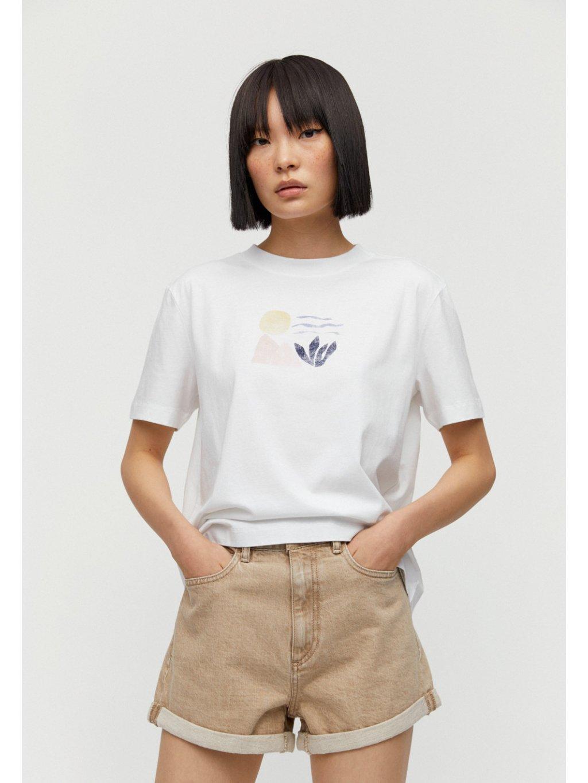 """Dámské tričko s potiskem """"MIAA big elements"""""""