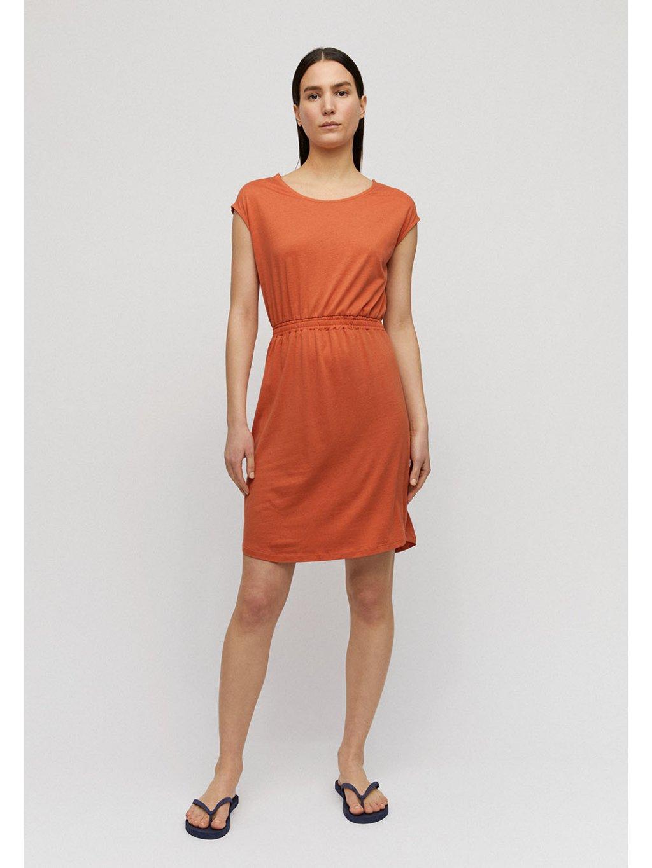 """Dámské oranžové šaty """"SONJAA starfish"""""""