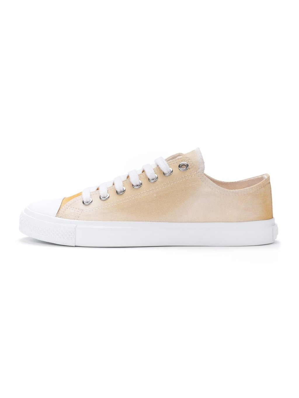 ethletic fair trainer white cap lo cut golden shin