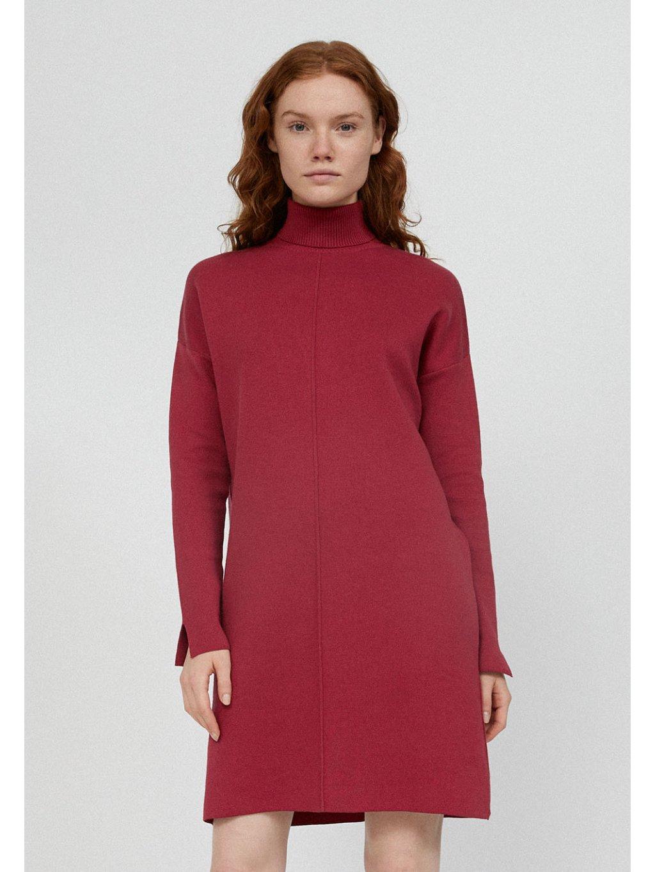 """Dámské růžové pletené šaty """"SIENNAA rosewood"""""""