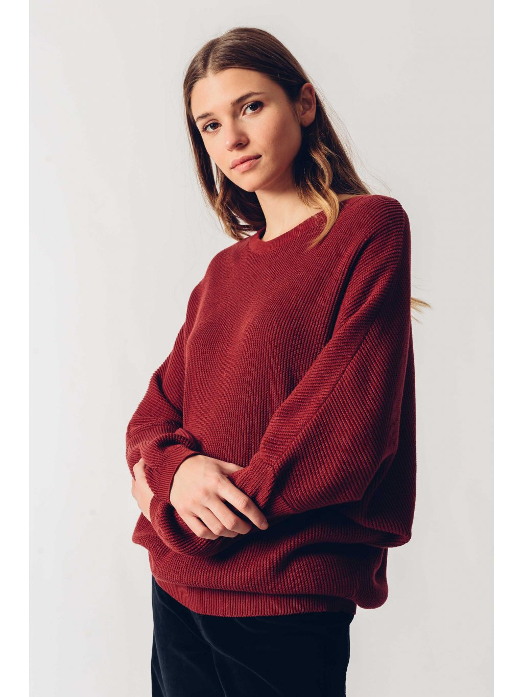 sweater organic cotton xadi skfk wsw00439 p9 ofb