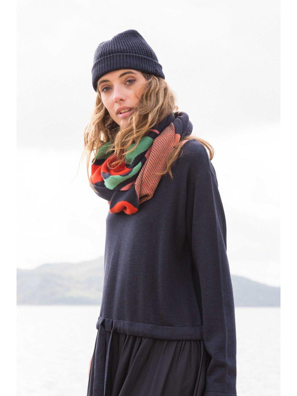 scarf organic cotton fika skfk wsc00275 b9 ofb