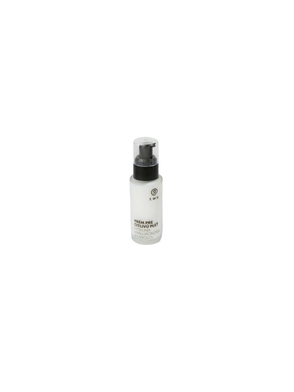 Two Cosmetics Krém pro citlivou pleť 50ml (s kyselinou hyaluronovou a bisabololem)