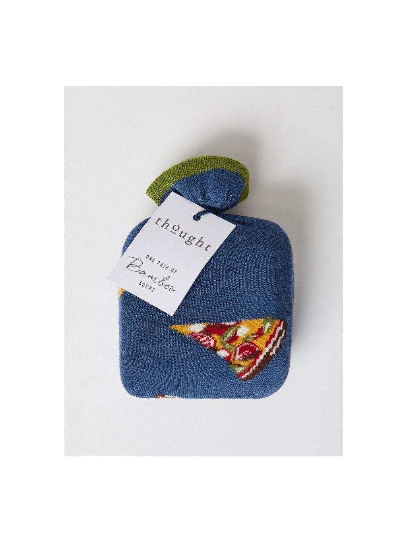 sbm4624 pizza pittsa bamboo pizza gift mens socks 1