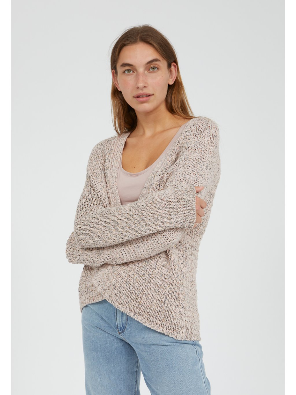 "Dámský pletený svetřík ""NALAAN kinoko"""