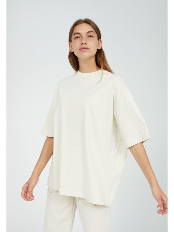 """Dámské krémové tričko """"LAURAA undyed"""""""