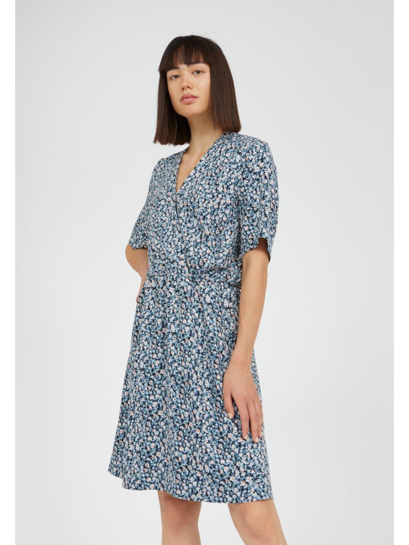 "Dámské šaty se vzorem ""AIRAA PRIMROSE foggy blue"""