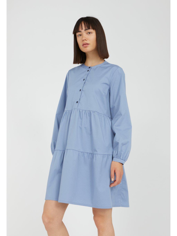 """Dámské modré košilové šaty """"KOBENHAAVN foggy blue"""""""