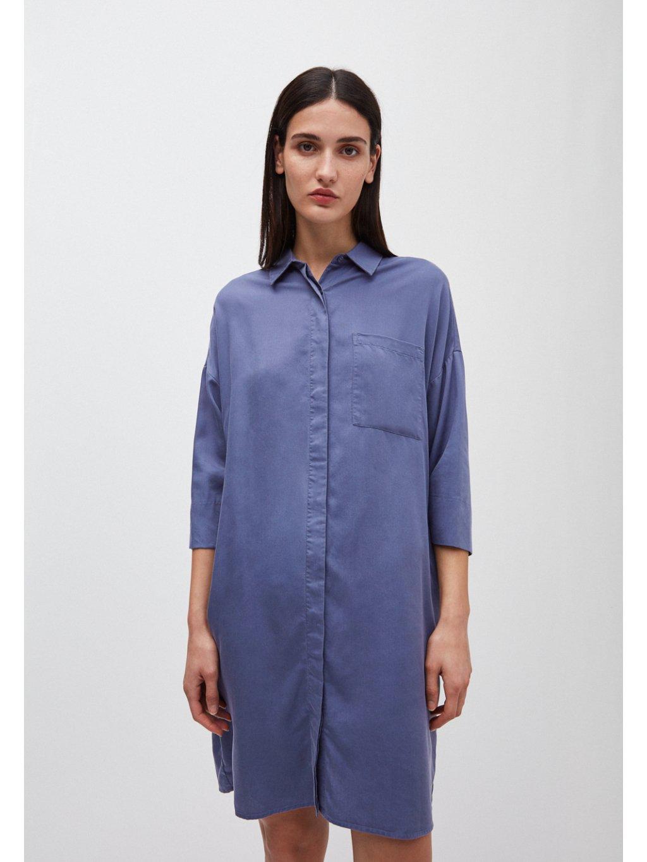 "Dámské modré šaty ""DOROTEAA blue indigo"""