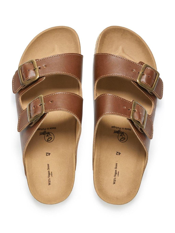 """Pánské hnědé sandály """"Footbed Sandals"""""""