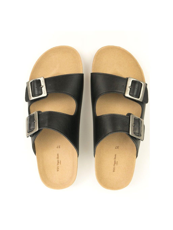 """Pánské černé sandálky """"Footbed Sandals"""""""
