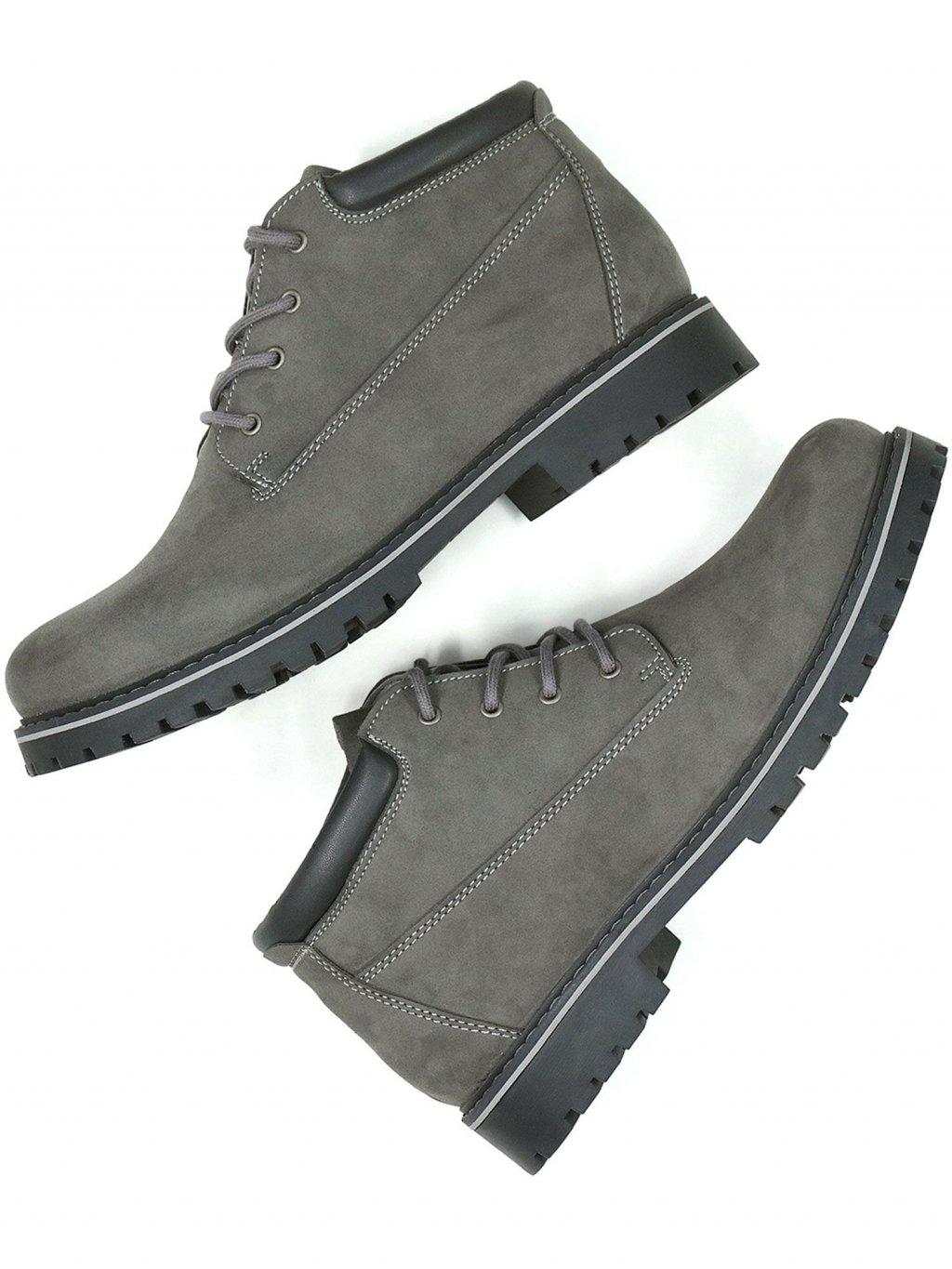 ankle dock boots grey 6 1