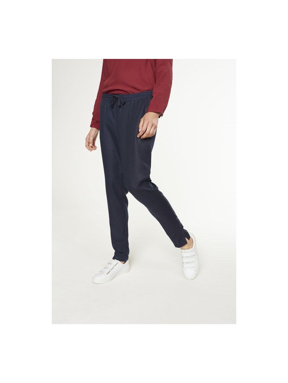 """Dámské modré kalhoty """"Anka"""""""