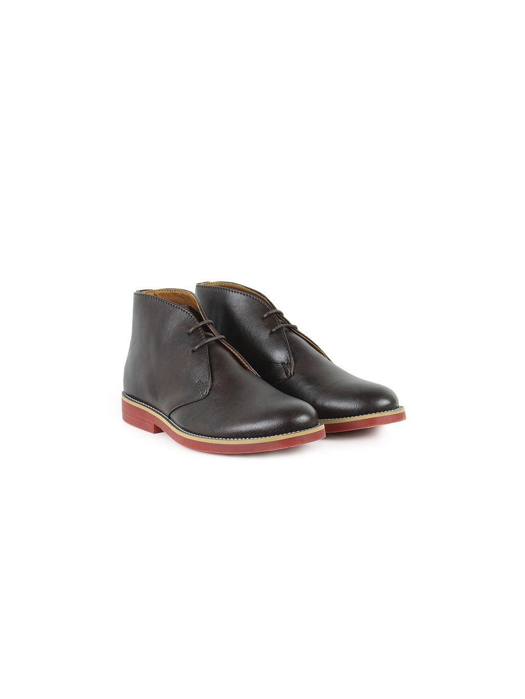 """Dámské hnědé kotníkové boty """"Desert Boots"""" - starý model"""