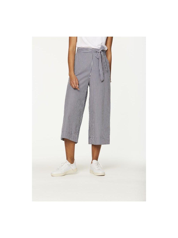 """Dámské kostkované culotte kalhoty """"Miray Vichy"""""""