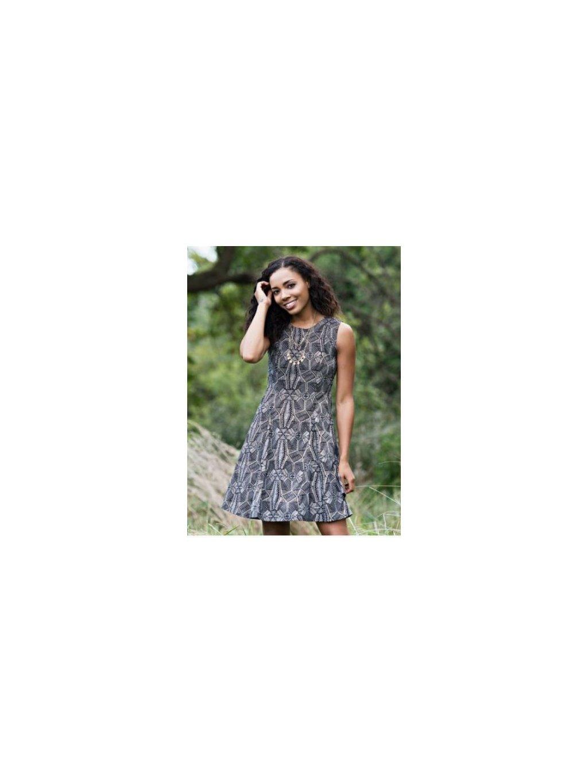 """a4b6894d8076 Dámské fair-trade šaty """"Fine Print"""