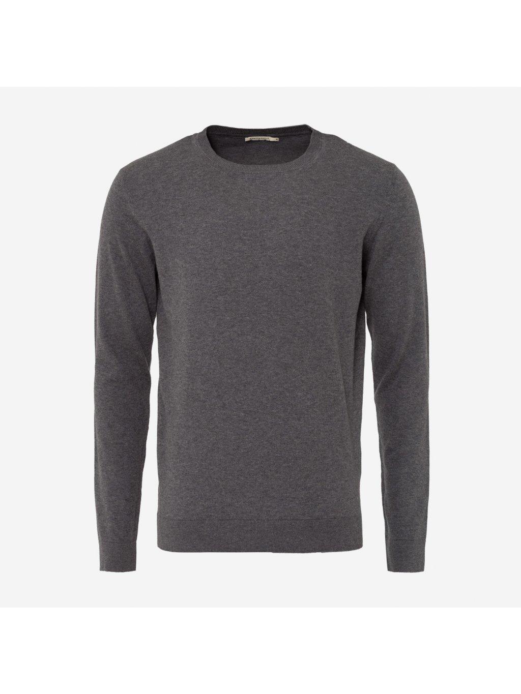 """Pánský šedý svetr z biobavlny """"Taro"""" d295374b76"""