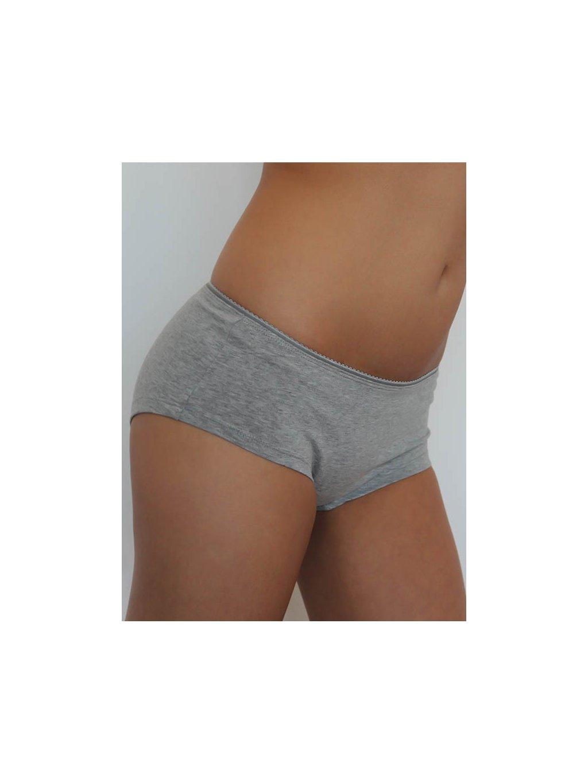 """Dámské šedé šortkové kalhotky """"Pants"""""""