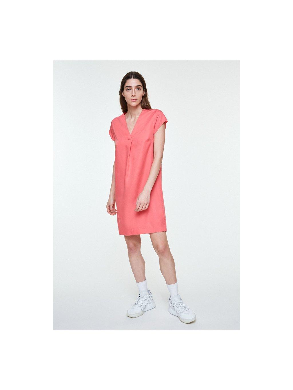 "f90048a1bfad Dámské růžové šaty z eukalyptu ""LENKAA PINK ROSE"" - EtikButik.cz"