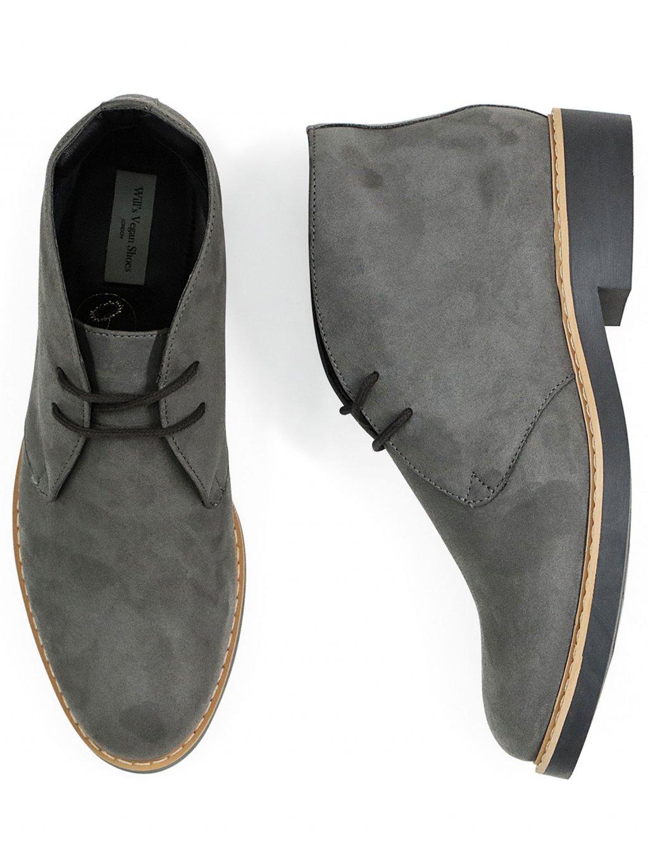 womens desert boots grey 5