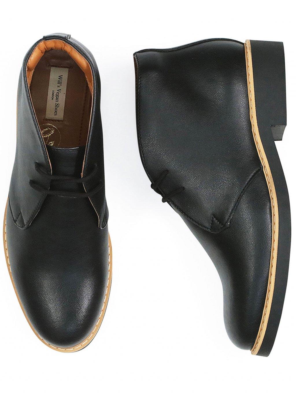 womens desert boots black 1 new