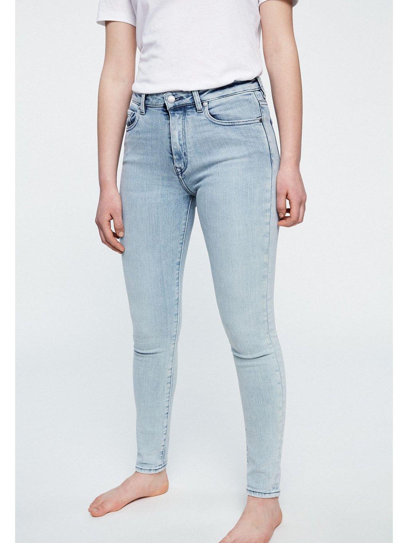 """Dámské světlé slim fit džíny """"TILLAA FADED BLUE"""""""