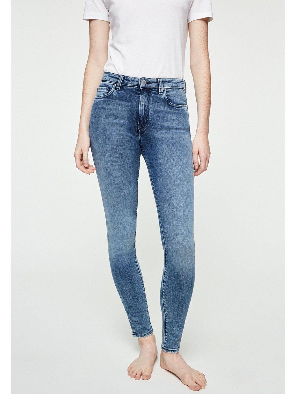 """Dámské modré slim fit džíny """"TILLAA STONE WASH"""""""