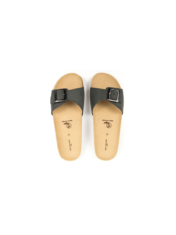 "Dámské zelené sandálky ""Single Strap Footbed Sandals"""