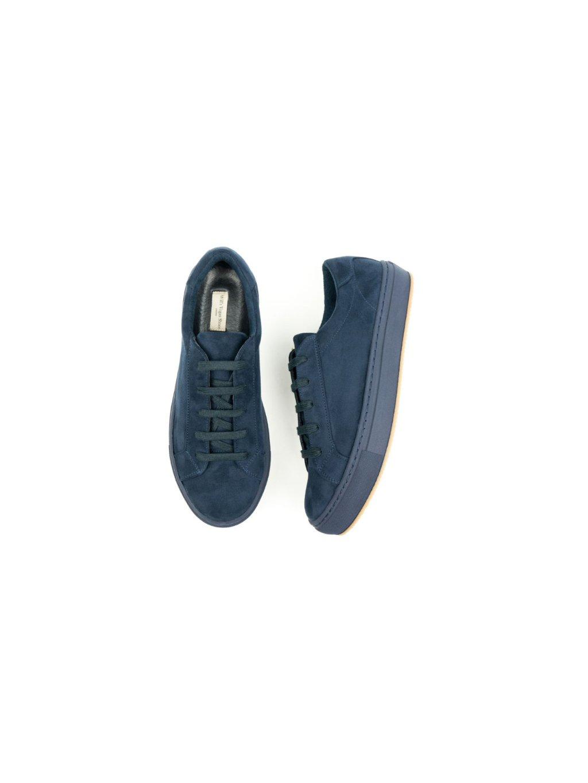 """Dámské modré tenisky """"Suede Sneakers Blue"""""""