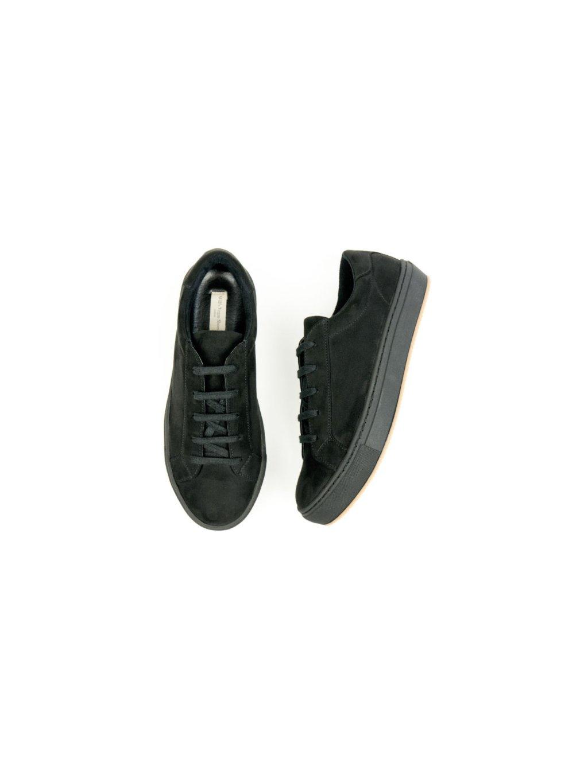 """Pánské černé tenisky """"Suede Sneakers Black"""""""