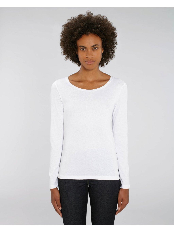 """Dámské tričko s dlouhým rukávem """"Stella Singer"""" bílé"""